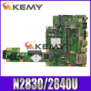 NEW Akemy X553MA MAIN_BD._0M/N2830/2840U For Asus A553M X503M F503M X553MA X503M X553M F553M F553MA laptop motherboard 100% test(China)