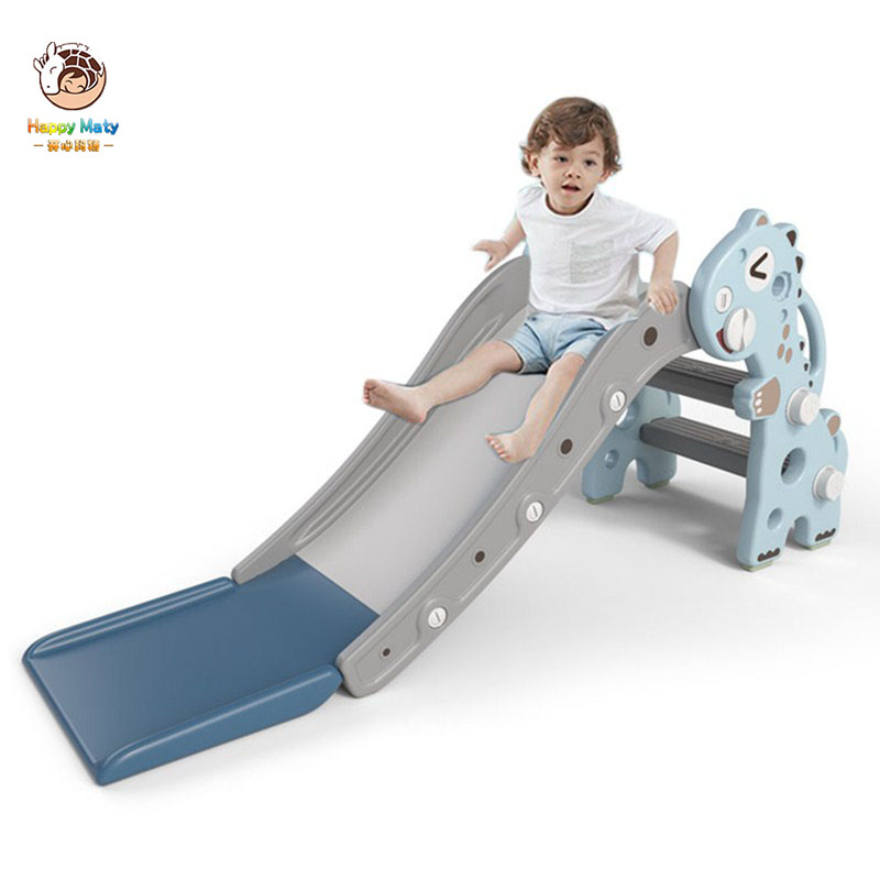 Baby Indoor Safety Slide With Basketball Hoop Multifunctional Slide Foldable Kids Small Amusement Park Toys For Children Gifts