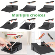 Mini Skateboards Board-Game Park for Kids Training Stair-Kit