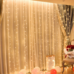 Christmas curtain LED string F