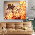 Modular Picture Wall Art Poster One Piece Sabo HD Printing Canvas Painting Japanese Anime Home Decoration Living Room