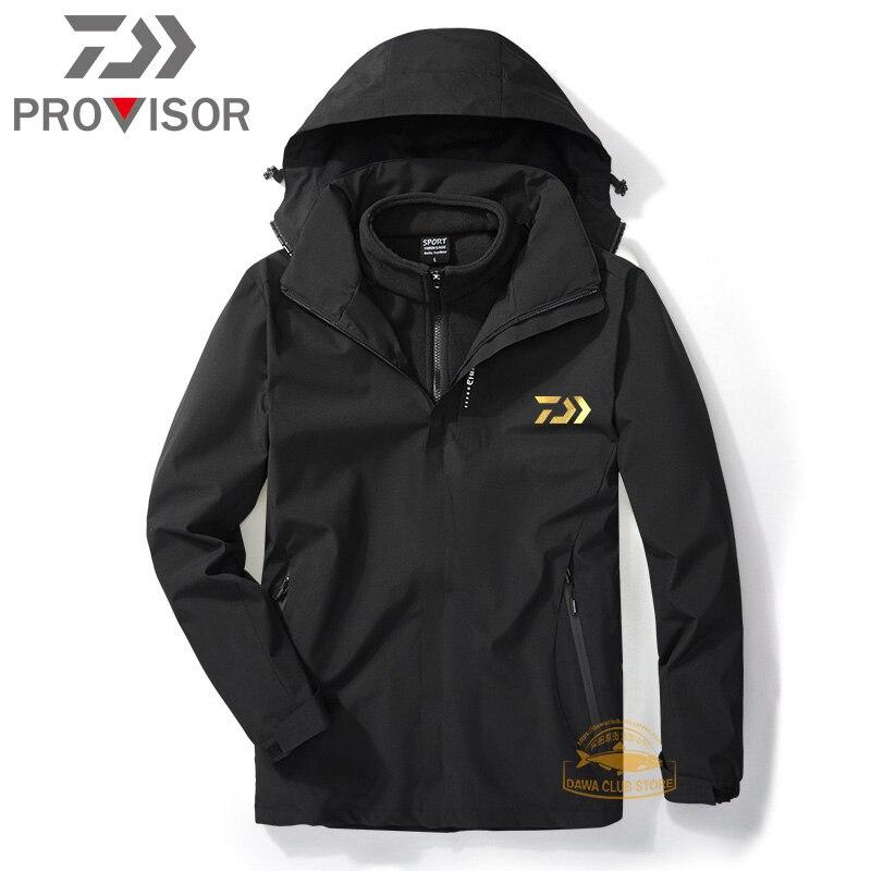 Новинка 2020 года, зимняя одежда для рыбалки DAIWA, водонепроницаемая теплая куртка для холодной рыбалки, мужская куртка для рыбалки на открытом воздухе|Одежда для рыбалки|   | АлиЭкспресс