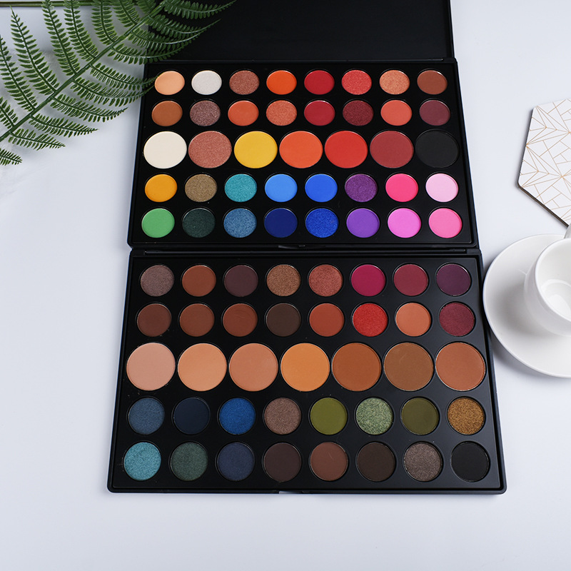 35 Color Bright Eyeshadow Pallete Glitter Shimmer Matte Eyeshadow Palette Longlasting Makeup Palette Maquillage Paleta de sombra
