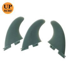 Surf Fins FCS II Tri fin set Fiberglass+plastic Nylon nateral color Performer fins surf accessories