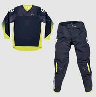 2020 New For Husqvarna Husky Style Men Motocross Suit Motobiker Racing Riding Jersey Pants Motorcycle MX riding combination