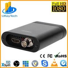 Full HD 1080P 60fps SD/HD/3g SDI+ HDMI карта захвата, SDI+ HDMI видео Аудио Захват, HD игра захват ключ для прямой потоковой передачи