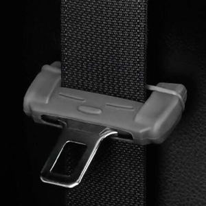 Image 2 - 1pcs Car Safety Belt Buckle Silicon Protector Anti Scratch Seat Belt Buckle Clip Interior Accessories for BMW VW Audi Toyota