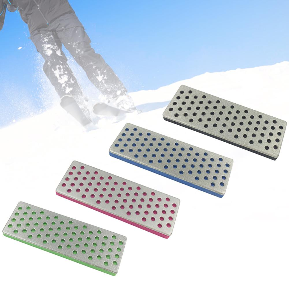 4pcs A Set Alpine Snowboard Edge Bevel Tuning Kit Edge Side For Skiing Edge Bevel Sports Accessories
