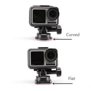 Image 4 - Osmo عمل منصب الكاميرا 3M لاصق مثبت منحني/سطح مستو/قاعدة ثابتة ل dji osmo عمل كاميرا الملحقات
