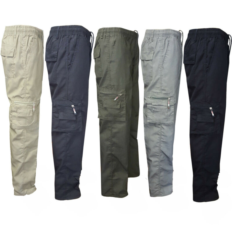 Fashion Brand New Hot Camping Hiking Army Cargo Combat Military Mens Straight Trousers Pants Casual Trouses