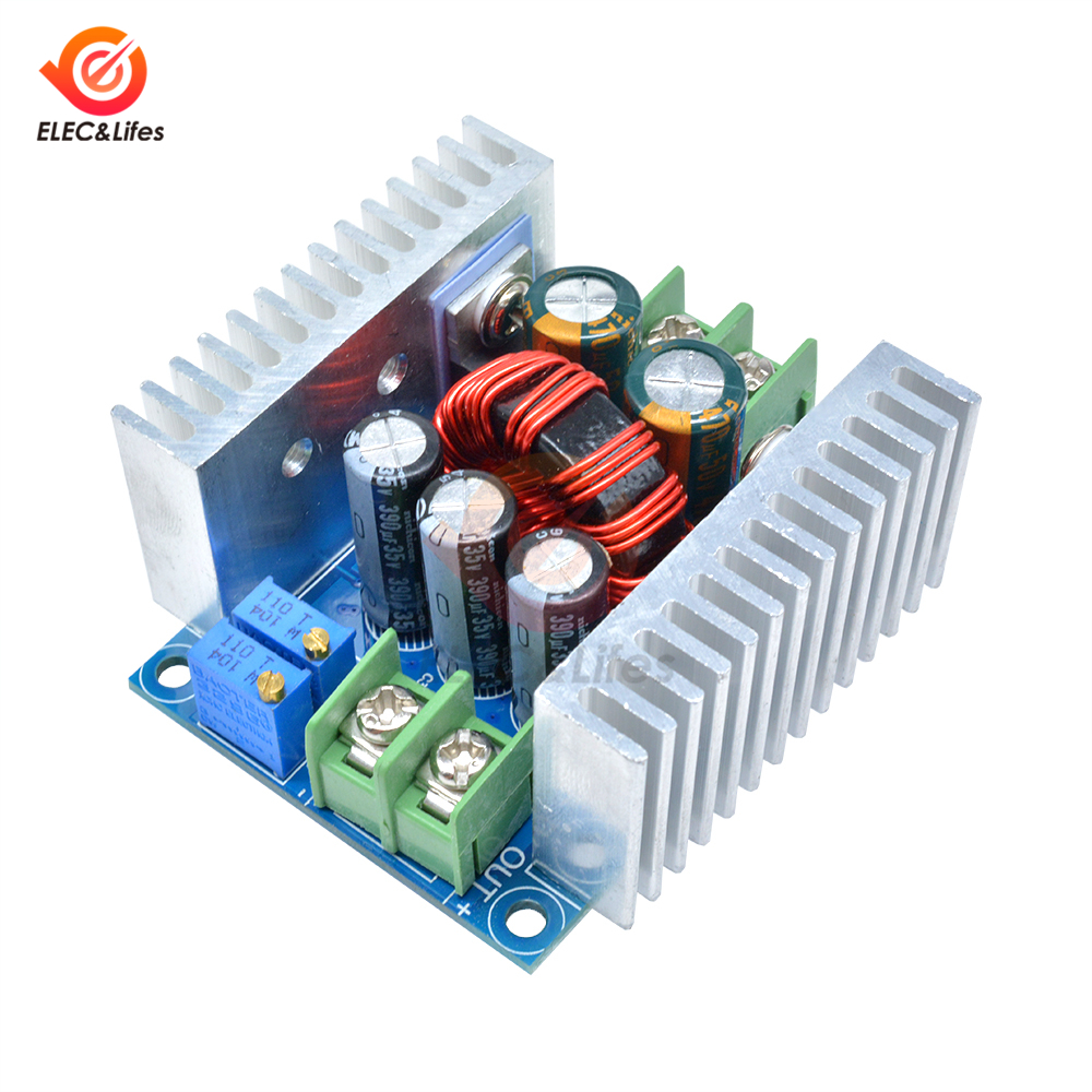 DC-DC 300W 20A Constant Current Adjustable step down module Buck Converter DC 6-40V Power Voltage Board Short Circuit Protection