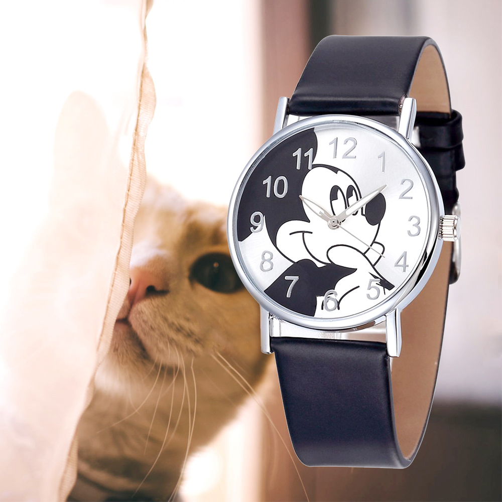 Minnie Mickey Mouse Kids Watches Montre Minnie Montre Mickey Children Cartoon Wristwatch Clock Reloj Minnie Reloj Montre Enfant
