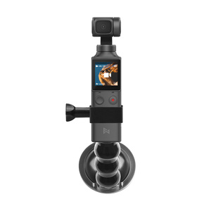 Image 5 - 2in1 Adjustable Car Suction Cup Mount Holder & Expansion Adapter Mount For FIMI PALM Handheld Camera Car Holder Accessories