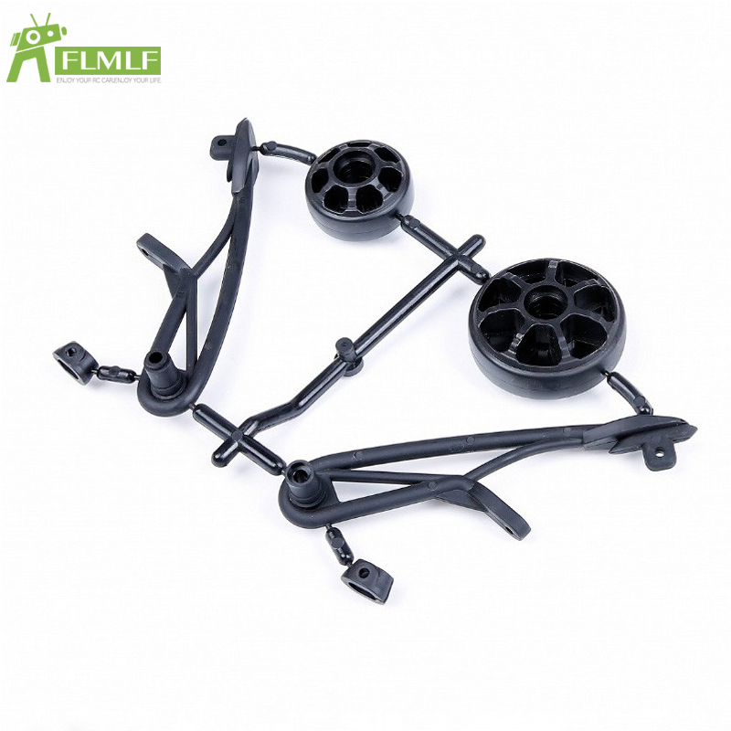 Rear Tail <font><b>Pulley</b></font> Kit Fit for 1/8 HPI Racing Savage XL FLUX ROFUN ROVAN TORLAND Monster Brushless Truck Toys Parts image