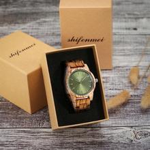 Wooden Watch Men Luxury Quartz Stylish Timepieces Military Women Watche