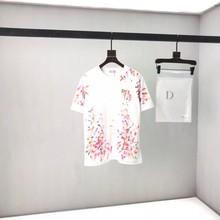 2021 di homme roupas t camisa dos homens das mulheres do desenhista t camisa alta rua imprimir t camisa tamanho XS--L