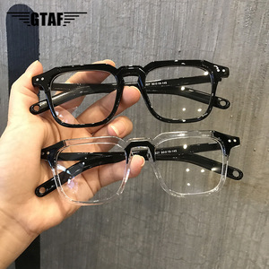 Anti Blue Light Blocking Square Frames Reading Glasses Clear Lens Computer Eyeglasses Fashion Unisex Classic UV400 Myopia