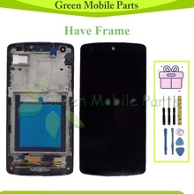 цена на GREE Tested LCD For LG Google Nexus 5 D820 D821 LCD With Touch Assembly For LG D820 LCD