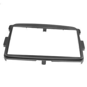 Image 5 - 2 DIN Car Frame Panel Fascia for Renault Duster 2012+ Adapter CD Trim Panel Stereo Interface Radio In Dash Mount Kit
