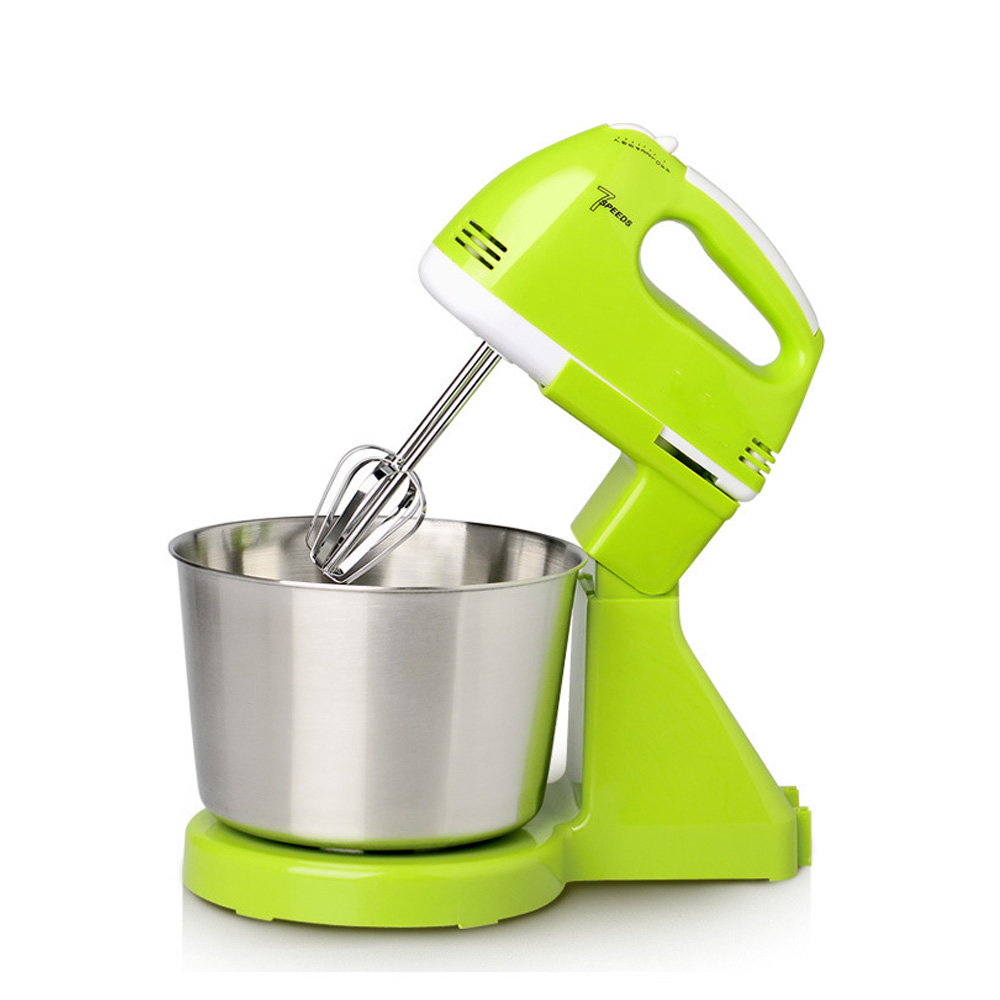 DIDIHOU Electric Egg Beater Dough Cakes Bread Egg Stand Mixer With Bowl Food Mixer For Kitchen Cooking Tools Dough Hand