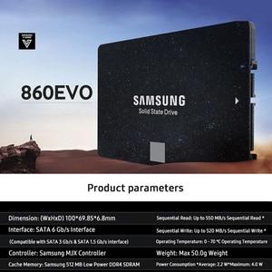 Image 5 - סמסונג 860EVO SSD 1TB 500GB 250GB הפנימי דיסק קשיח HDD כונן SATA3 2.5 אינץ מחשב נייד שולחן העבודה מחשב TLC עבור מחשב נייד
