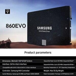 Image 5 - SAMSUNG 860EVO SSD 1TB 500GB 250GB ภายใน Solid State Disk ฮาร์ดดิสก์ไดรฟ์ SATA3 2.5 นิ้วแล็ปท็อป desktop PC TLC สำหรับแล็ปท็อป