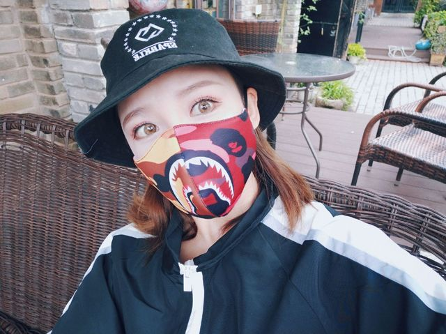Shark Mouth Mask Cotton Dustproof Mouth Face Mask Women Men Muffle Face Mouth Masks Windproof Mouth-muffle Flu Face Mask 3
