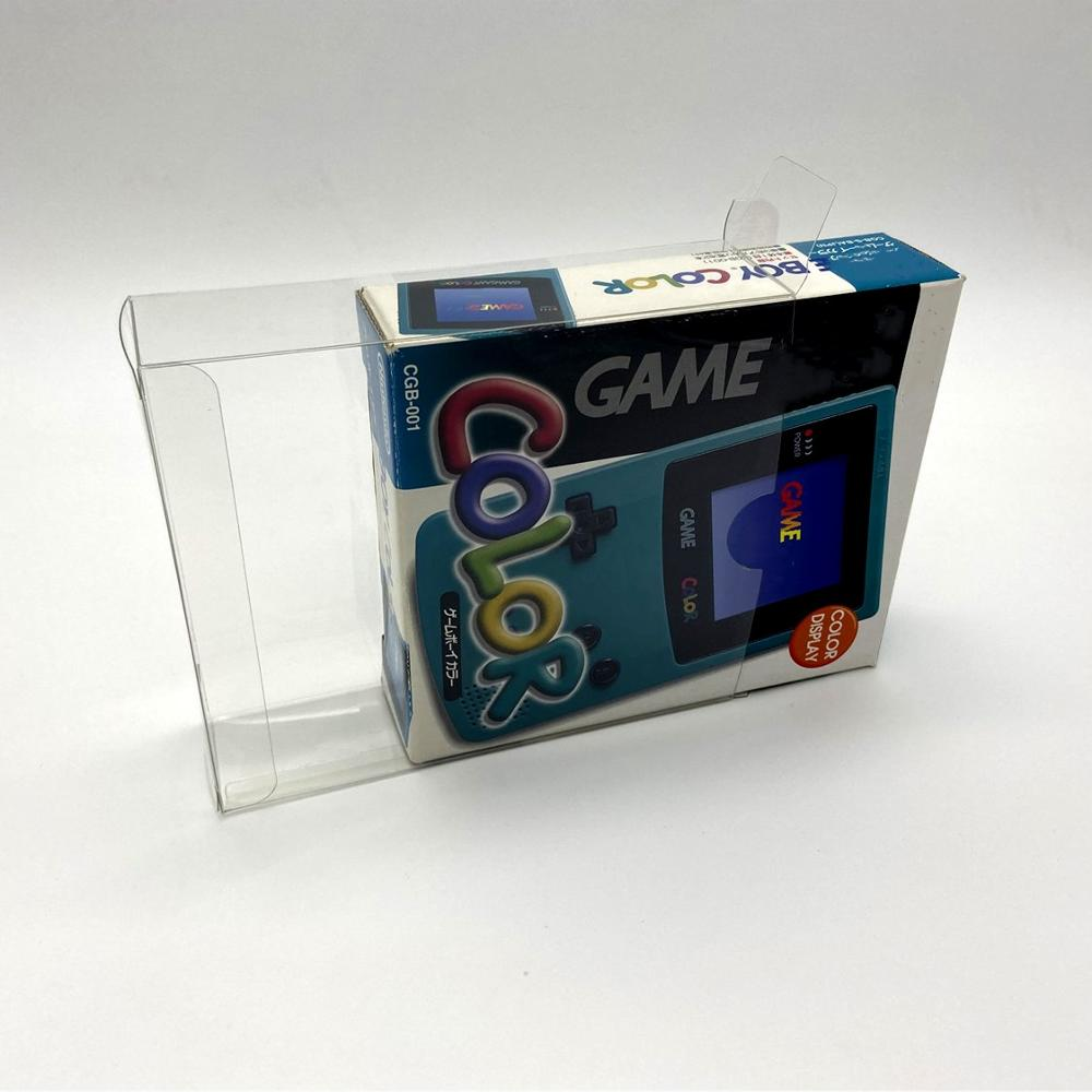 Collection Box Display Box Protection Box Storage Box For Gameboy COLOR GBC