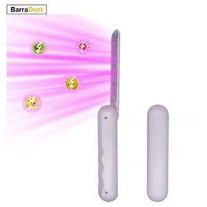 УФ-светильник стерилизатор 6 UVC LEDs бактерицидная лампа ручная ультрафиолетовая дезинфекция палочка профессиональная эффективная 99.99% стери...