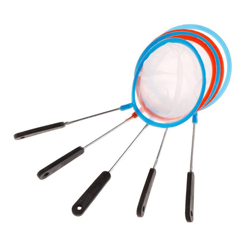 5pcs 5pcs Fish Tank Net Aquarium Shrimp Mesh High Density Filter Artemia Tools Mini Portable Landing