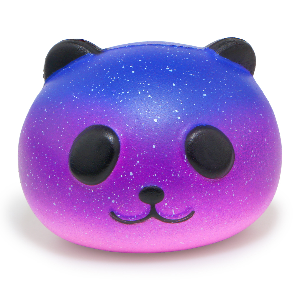 New Fashion Funny Squishy Slow Rising Kids Toys Panda Dog Face Stress Reliever Squeeze Toys Collection