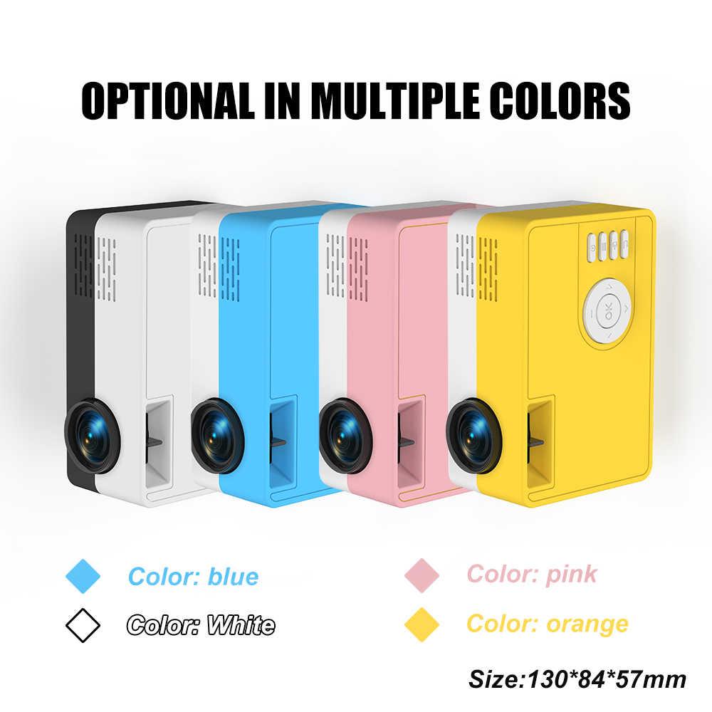 Salange جهاز عرض صغير J15 ، 320*240 بكسل يدعم 1080P HDMI USB  متعاطي المخدرات مصغرة المنزل مشغل الوسائط هدية الاطفال
