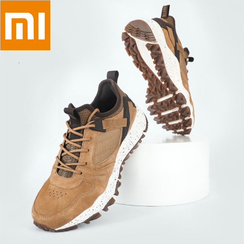 New Style Xiaomi Freetie Trend Outdoor Casual Shoes Men Sneakers Sports Shoes Soft Bottom Comfortable Non-slip Wear Keep Warm