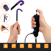 Wifi Industrial Endoscope Camera Rotatable Borescope 720P Rotary Endoscope USB Car Pipe Inspection Camera for Android IOS Phone