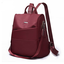 Popular women's bag 2020 new backpack Oxford backpack fashion casual bag student backpack