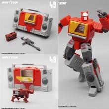 MFT MF 49 DE ACCIÓN DE Transformers MF49, Mini figura de acción de Pocket War MechFans, juguete de Robot de 12cm con caja