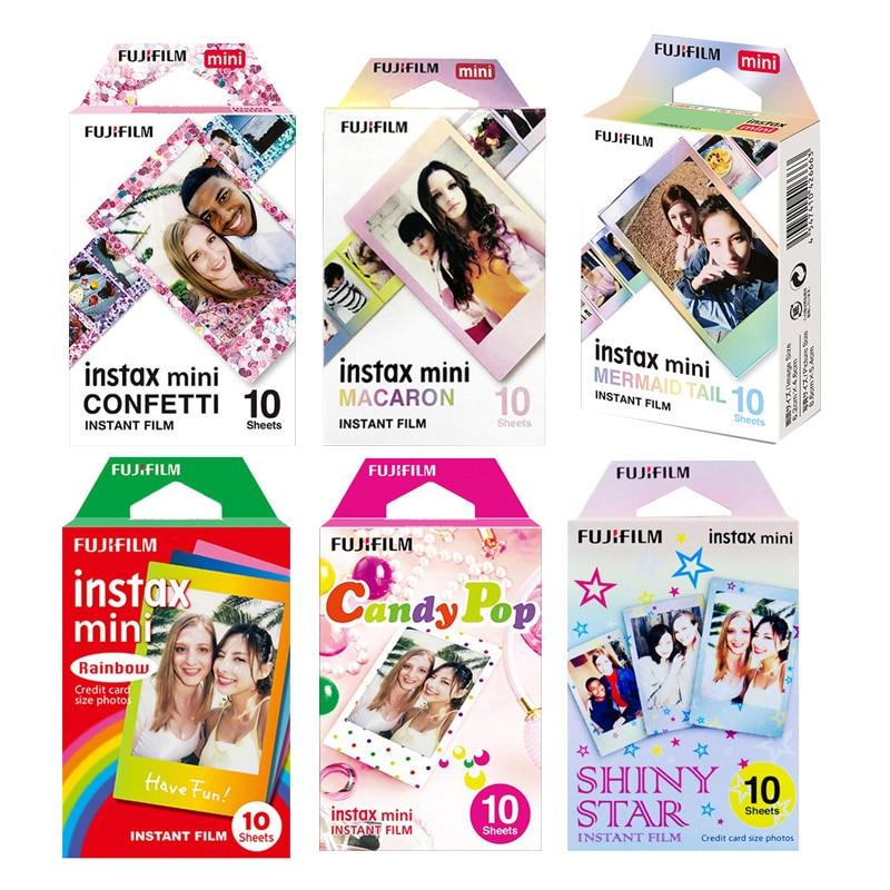 Fujifilm Instax Mini 9 11 Film Color Photo Papers For Instax Mini 9 8 70 90 7s 25 Hello Kitty Instant Camera SP-2 LiPlay Printer