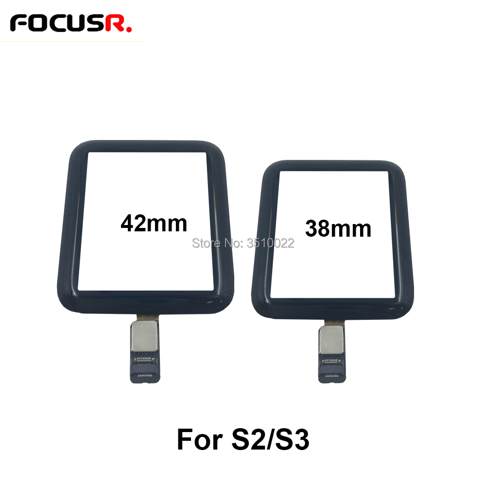 High Quality 38mm 42mm Touch Screen Digitizer Sensor Glass Lens Panel For Apple Watch Series 2 3 Touch Screen Repiar Parts