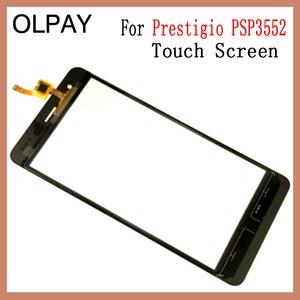Image 4 - Olpay 5.5 prestigio muze h3 psp3552 psp 100% duo 전면 유리 터치 스크린 센서 패널 용 새 3552 휴대 전화 터치 스크린