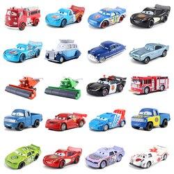 Disney Pixar Cars 2 3 Lightning 38 Style Mcqueen Mater Jackson Storm Ramirez 1:55 Diecast Vehicle Metal Alloy Kid Toys Gift