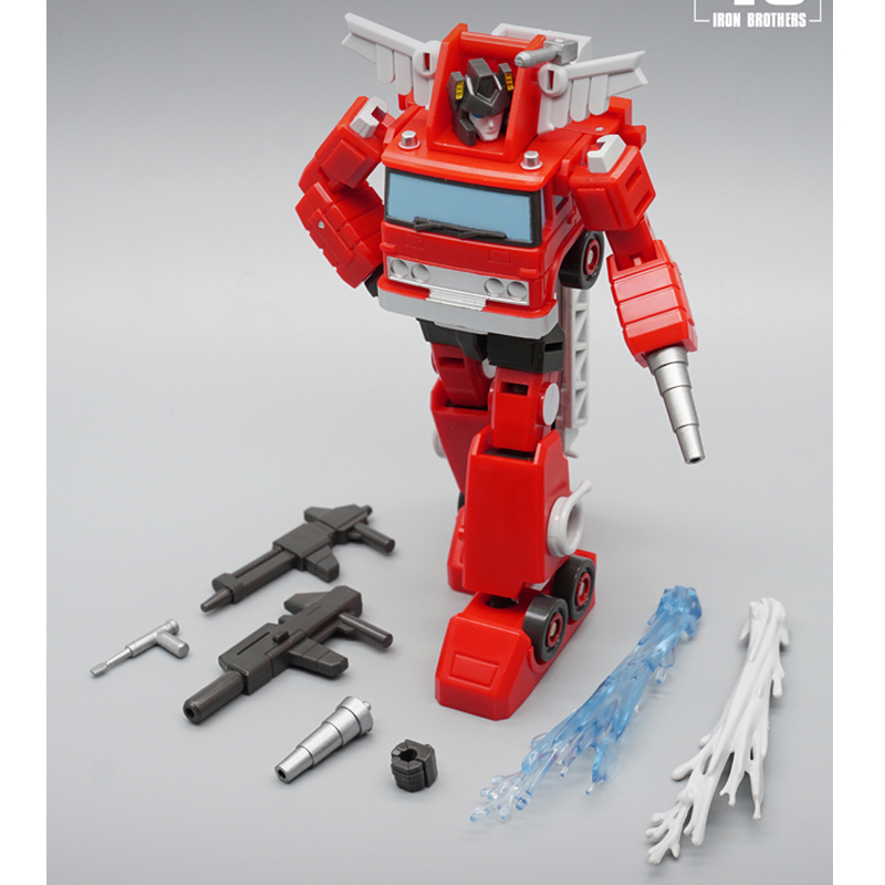 Transformers MFT MF45 Inferno Mini Action Figure Pocket Series New Toys In Stock