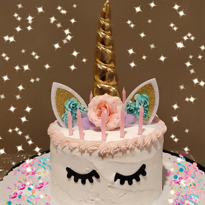 Image 5 - Unicorn Birthday Party Decor Unicorn Party Paper Napkins Plate Cup for Party Decoration Kids Baby Shower Birthday Party Supplies