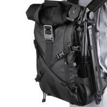 Besnfoto BN 2020 DSLR zaino Rolltop scomparto per Laptop accesso rapido laterale borsa fotografica impermeabile per escursioni in viaggio