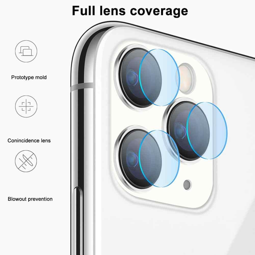 الزجاج المقسى الخلفية عدسة المضادة للبصمة زجاج واقي فيلم كاميرا عدسة واقي للشاشة لفون XS XR X 11 برو ماكس