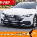 Для CC ABS задний бампер диффузор протектор для 2019 Volkswagen CC обвес бампер задний передний Лопата задний спойлер