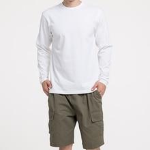 Winter Long Sleeve T-Shirts Men Cotton Solid Basic Summer Tees Women Autumn Male Female Tshirt Slim Plain Tee Shirt Children Top