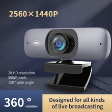 Webcam 1080P Camera-Cover Microphone Computer Mini Full-Hd Pixel TISHRIC with C200 USB