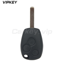 Remotekey remote key fob control 3 button VA6 blade PCF7947 ASK model for Renault Clio Kangoo Modus Master Twingo key whatskey 1 button remote car key shell fob case cover for renault twingo clio master scenic kangoo vac102 blade replacement