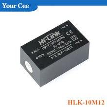 AC-DC Мощность модуль мини изоляция рубильник Питание модуль 220 В до 12 В/5 В пост HLK-10M05 HLK-10M12 HLK-2M12 HLK-2M09 HLK-2M05