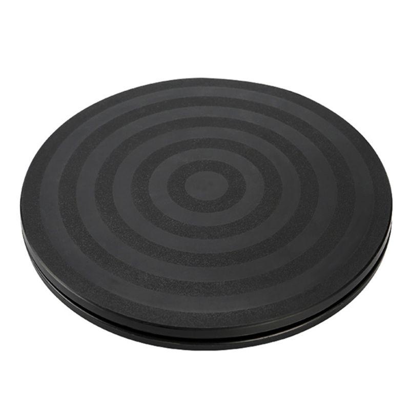 """8 """"runde Bonsai Plattenspieler Rotierenden Platte Rad Revolving Home Küche Display"""